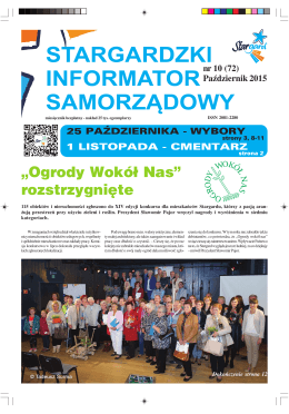 """""""Ogrody Wokół Nas"""" rozstrzygnięte"""
