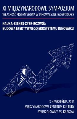 Program Sympozjum 2015 - Urząd Patentowy Rzeczypospolitej