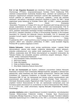 biogramy członków rady programowej w kadencji 2015-2018