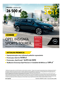 Opel Insignia Sports Tourer - Dixi-Car