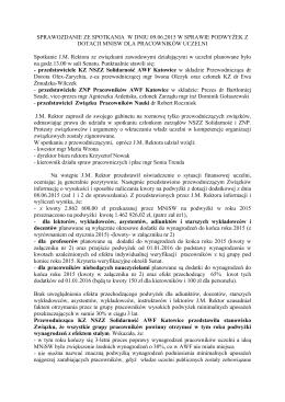 sprawozdanie ze spotkania 09.06.2015