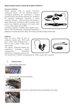 Instrukcja obsługi kamery cofaniapdf367 kBPobierz
