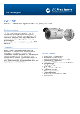 TVB-1105 - UTC Fire & Security