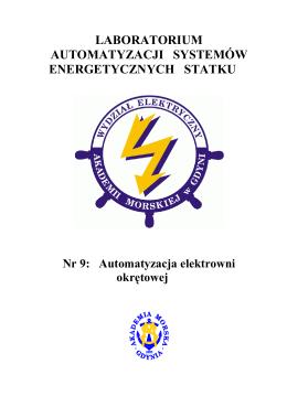 Automatyzacja elektrowni okrętowej