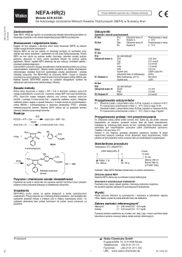 NEFA-HR2 - Bujno Chemicals