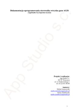 dokumentacja oprogramowania sterownika AGIS v1 3_PL