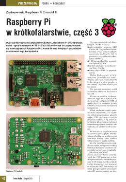 Raspberry Pi w krótkofalarstwie, część 3 - SP8NTH