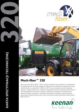 Mech-fiber™ 320 K ART A SPECYFIK A CJI TECHNICZNEJ