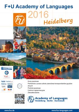 Heidelberg - F+U Academy of Languages
