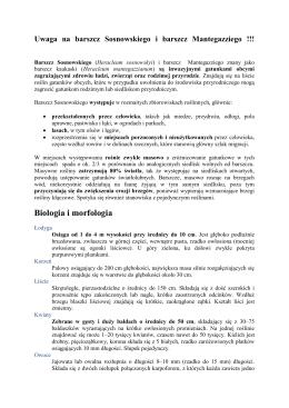 barszcz - Państwowa Inspekcja Ochrony Roślin i Nasiennictwa