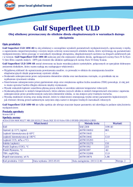 Gulf Superfleet ULD