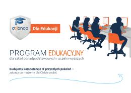 Broszura Axence Dla Edukacji