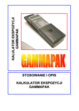 Instrukcja do urządzenia w języku polskim