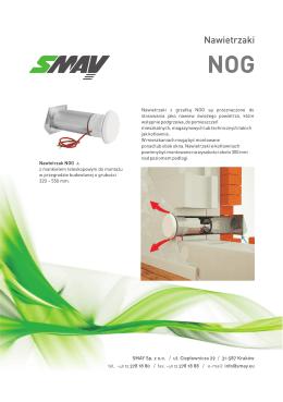 Karta katalogowa Smay NOG