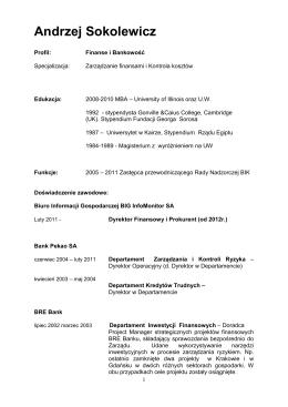 Andrzej Sokolewicz - Polimex