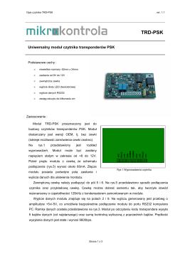 TRD-PSK v1_1PL