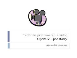 Wstęp do OpenCV