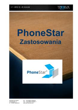 PhoneStar na podlogi