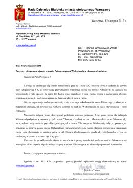 Rada Dzielnicy Białołęka miasta stołecznego