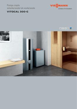 Pompa ciepła solanka/woda lub woda/woda VITOCAL