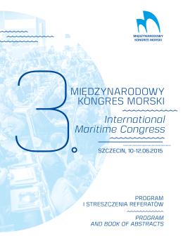 pobrać tutaj. - 3 Międzynarodowy Kongres Morski w Szczecinie