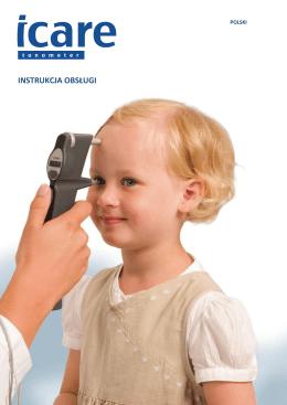 INSTRUKCJA OBSŁUGI - Icare tonometer USA