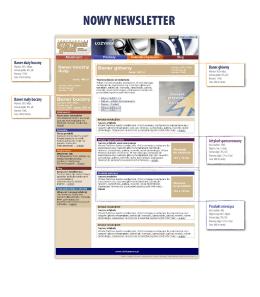 NOWY NEWSLETTER - Inżynieria & Utrzymanie Ruchu