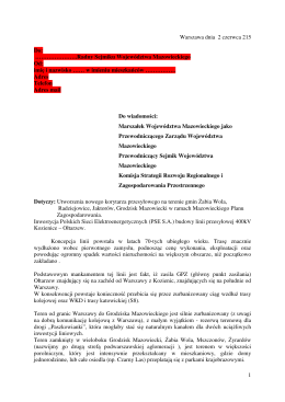 Radny Sejmiku Województwa Mazowieckiego Od