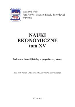 Zobacz więcej - Wydawnictwo Naukowe PWSZ w Płocku
