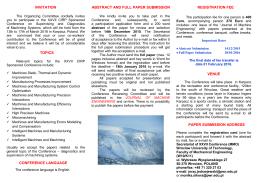 Folder konferencji