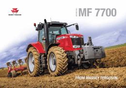 Ciągniki rolnicze Massey Ferguson - seria 7700