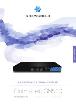 Stormshield SN510 - BIT