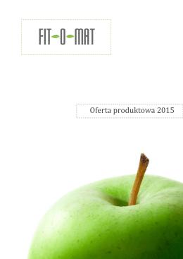 Oferta produktowa 2015