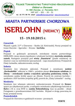 Iserlohn - PTTK Chorzów