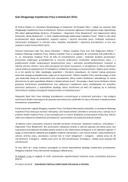 czytaj dalej - Śląski Związek Pracodawców Prywatnych