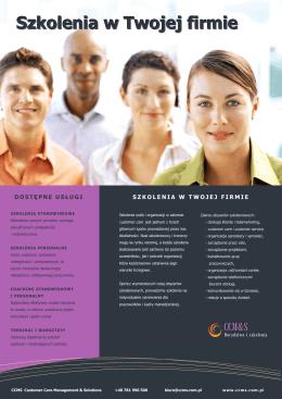 Szkolenia w Twojej firmie