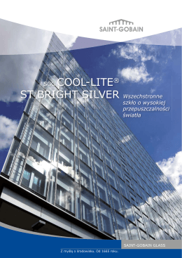 SGG COOL-LITE® ST BRIGHT SILVER