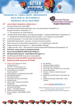 pobierz w wersji PDF - Sztab WOŚP Świebodzice