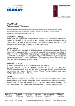 Polyplus – informacje techniczne