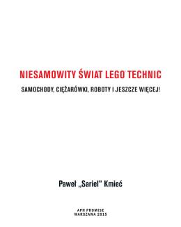 NIESAMOWITY śWIAT LEGO® TECHNIC