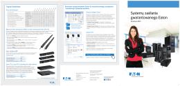 Zasilacze UPS. Broszura 2015 PDF