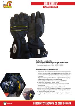 fire keeper® rękawice strażackie