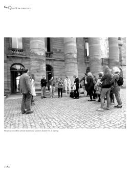 Wizyta uczestników Letniej Akademii w zamku w Kassel. Fot. J