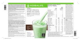 Koktajl odżywczy Shake mix nutritiv