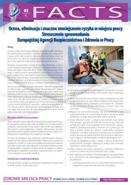 Ocena, eliminacja i znaczne zmniejszenie ryzyka w miejscu pracy