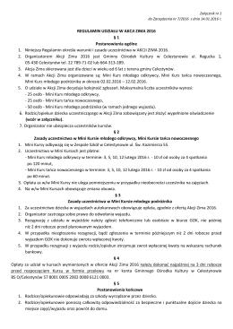 Regulamin - Celestynów, Urząd Gminy