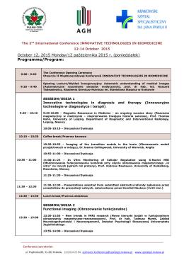PROGRAM_pol-ang_5 sierpnia - Krakowski Szpital Specjalistyczny