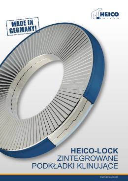 katalog zintegrowanych podkładek klinujących HEICO-LOCK