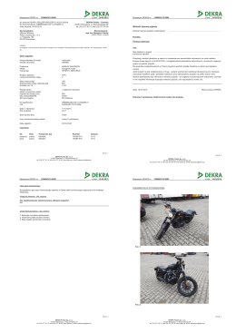 Ekspertyza DEKRA nr 129068/3/15-9505 z dnia 19-03