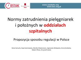 Lek. med. Krzysztof Łanda – Zasady ustalania norm zatrudniania
